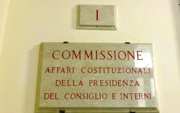 Riforma costituzionale: via libera senza modifiche in commissione Affari costituzionali, testo in Aula da giovedì 20 novembre