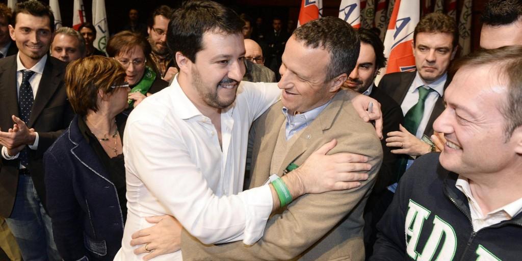 Salvini e Tosi: pace è fatta?