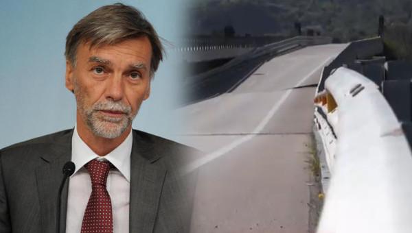 Crollo A19, Delrio: il viadotto va abbattuto. Per la ricostruzione ci vorranno 2 anni e 30 mln