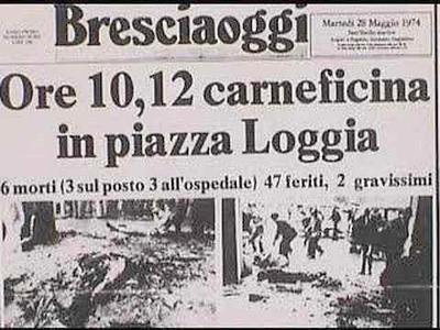 """Strage di Piazza della Loggia, nessun responsabile. Mattarella: """"E' sconfortante"""""""