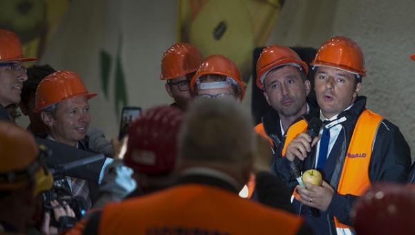 """Tour di Renzi in Trentino: """"Su riforme avanti con testa dura"""""""