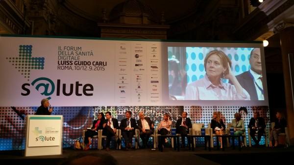 Ministro Lorenzin a Forum s@lute: con sanità digitale risparmiare dove possibile e reinvestire dove necessario