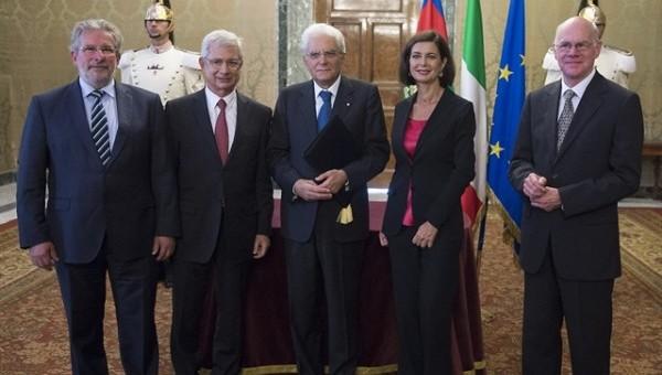 Integrazione contro i populismi: dichiarazione congiunta di Boldrini e colleghi. Mattarella: documento prezioso