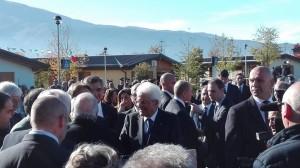 Mattarella in visita a L'Aquila, inaugura l'anno accademico e il Tribunale