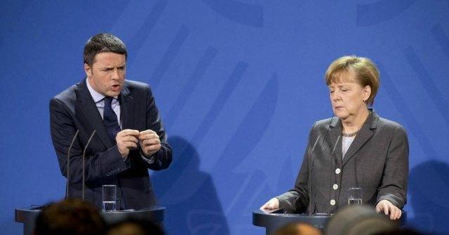 Vertice Ue, è scontro Renzi-Merkel su banche e gas russo