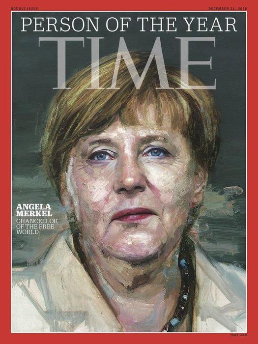 """Il Time incorona persona dell'anno Angela Merkel, """"cancelliera del mondo libero"""". Nella terna anche Al-Baghdadi e Donald Trump"""