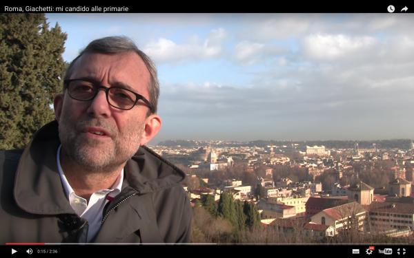 Roma, parte la corsa di Giachetti: con un video sui social annuncia candidatura alle primarie del centrosinistra