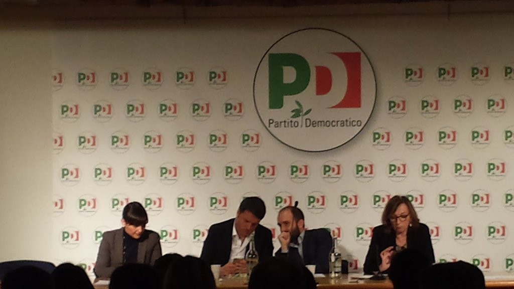 """Direzione Pd, Renzi: """"Riforma unioni civili è irrinviabile. Ue? Recuperare ideale dimenticato. A Roma possiamo vincere"""""""