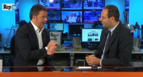 """Renzi a Repubblica Tv: """"Se perdo il referendum smetto di fare politica"""", si vota nel 2018"""